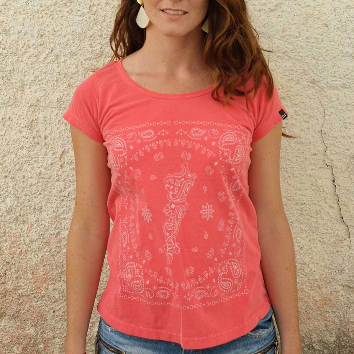 T-shirt Stone Ethnic Feminina