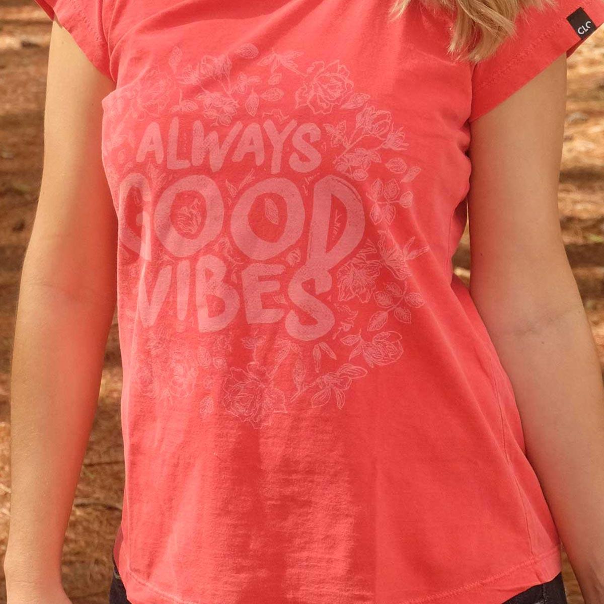 T-shirt Stone Good Vibes