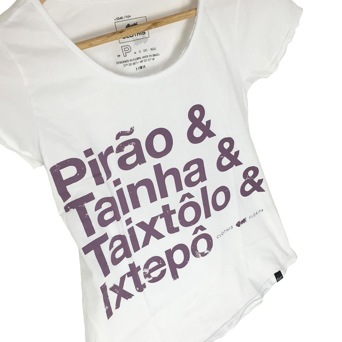 T-shirt Stone Pirão Feminina