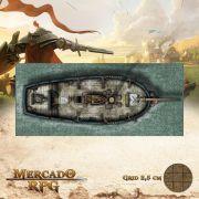 Alvorada Externa 20x50 - RPG Battle Grid D&D