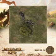 Area Selvagem A 25x25 - RPG Battle Grid D&D