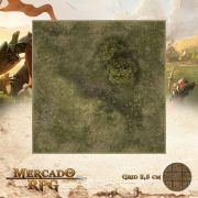 Area Selvagem B 25x25 - RPG Battle Grid D&D