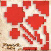 Áreas de Magias (Com Caixa / Bandeja de dados) A