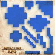 Áreas de Magias (Com Caixa / Bandeja de dados) B