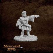 Balto Burrowell, Gnome Wizard - Miniatura RPG