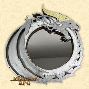 Bandeja de Dados Dragão Prata - RPG