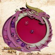 Bandeja de Dados Dragão Rosa