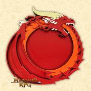 Bandeja de Dados Dragão Vermelho - RPG
