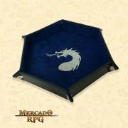 Bandeja de Dados Dragon - Azul