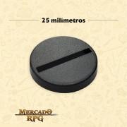 Base redonda 25mm - RPG