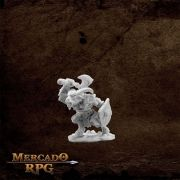 Beastman Champion - Miniatura RPG