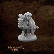Bergamot, Halfling Scout - Miniatura RPG
