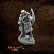 Black Bear Tribe Caveman C - Miniatura RPG