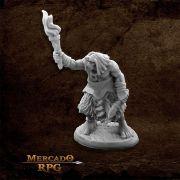 Black Bear Tribe Caveman D - Miniatura RPG