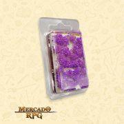 Blossom TUFTS - 6mm self-adhesive - PURPLE Flowers - RPG