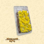 Blossom TUFTS - 6mm self-adhesive - YELLOW Flowers - RPG