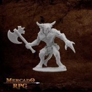 Bronzeheart, Minotaur hero - Miniatura RPG