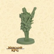 Bushi Clã Tartaruga A - Miniatura RPG