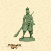 Bushi Clã Tartaruga B - Miniatura RPG