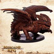 Capricious Copper Dragon