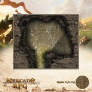 Caverna das Presas 15x13 - RPG Battle Grid D&D