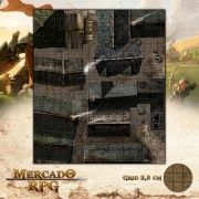 Cidade - Becos 47x55 - RPG Battle Grid D&D
