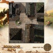 Cidade - Centro 47x55 - RPG Battle Grid D&D