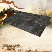 Cidade Futurista A (180x120) - Battle Grid Wargame