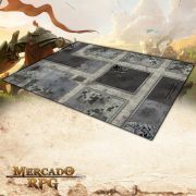 Cidade Futurista B (180x120) - Battle Grid Wargame
