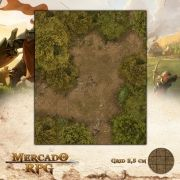 Clareira 25x30 - RPG Battle Grid D&D