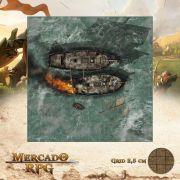 Combate Naval 75x75 - RPG Battle Grid D&D