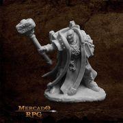 Crusader Ardent (Hammer) - Miniatura RPG