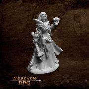 Dark Elf Priestess - Miniatura RPG