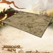 Deserto A 180x120 Grid de Batalha - Battle Grid Wargame