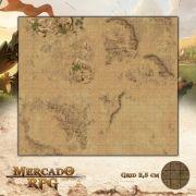 Desertos de Calin 50x50 - RPG Battle Grid D&D