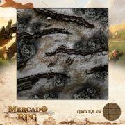 Desfiladeiro da Montanha A 50x50 - RPG Battle Grid D&D