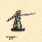 Dragonborn Draconic Sorcerer A - Miniatura RPG