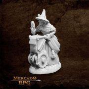 Dreadmere Townsfolk: Fishmonger A - Miniatura RPG
