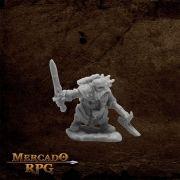 Durgam Deepmug, Dwarf Hero - Miniatura RPG