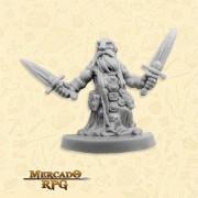 Dwarf Agent - Miniatura RPG