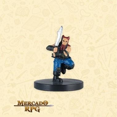 Dwarf Barbarian - Miniatura RPG