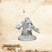 Dwarf Female Cleric B - Miniatura RPG