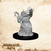 Dwarf Female Summoner B - Miniatura RPG