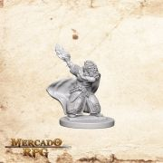Dwarf Female Wizard B - Miniatura RPG