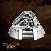 Dwarf King on Throne