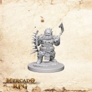 Dwarf Male Barbarian B