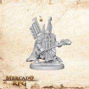 Dwarf Male Paladin A - Miniatura RPG