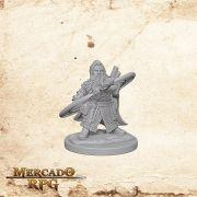 Dwarf Male Sorcerer A