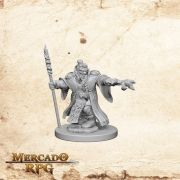 Dwarf Male Wizard A - Miniatura RPG