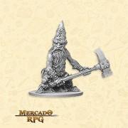 Dwarf Warrior Minions - Miniatura RPG